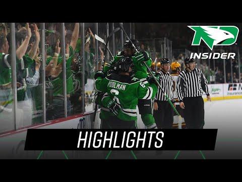 North Dakota vs. Minnesota | Highlights | UND Hockey | 10/27/18
