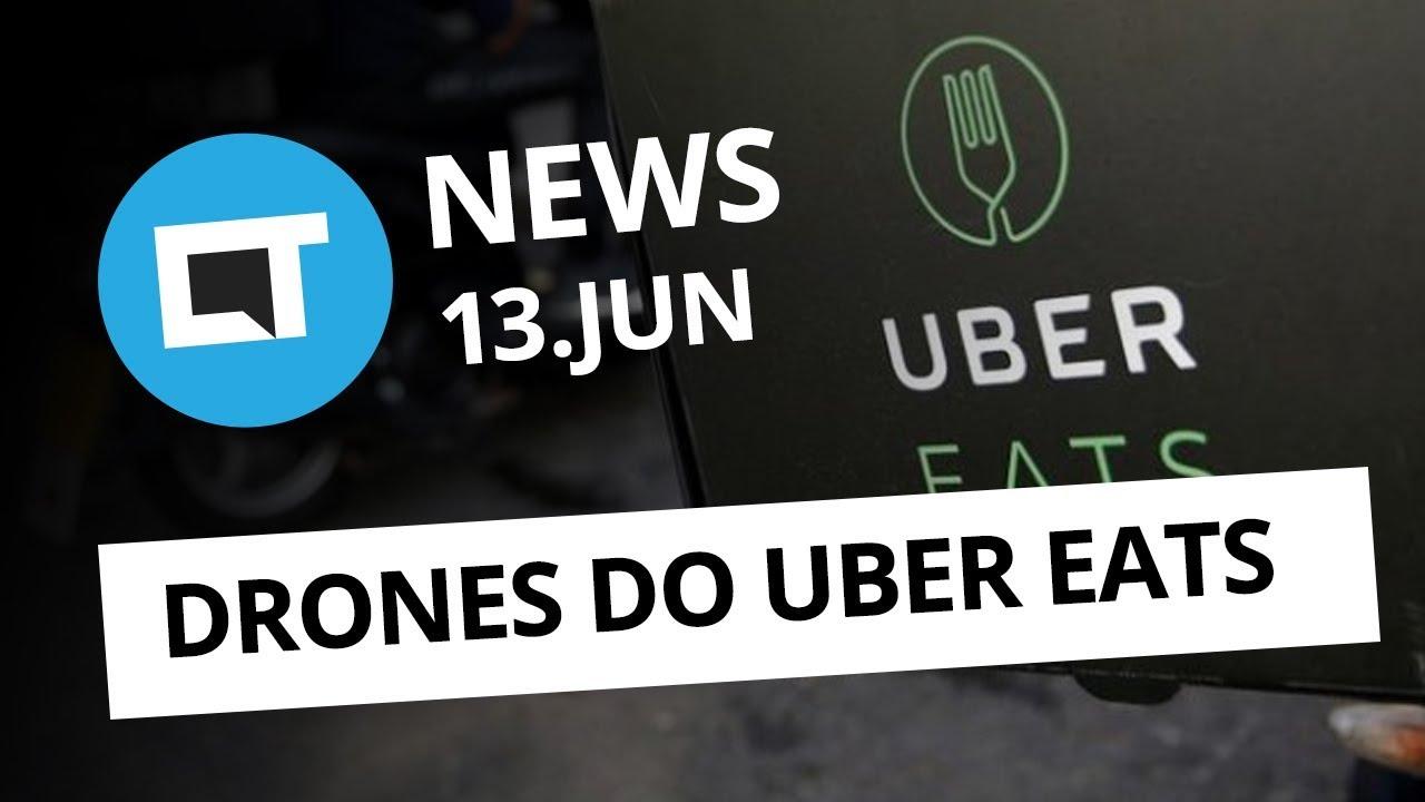 Drones do Uber Eats