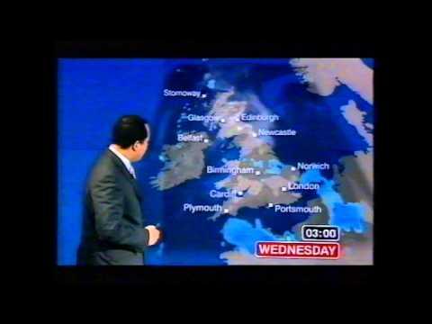 BBC Weather 4th July 2006: 30.5°C at RAF Northolt