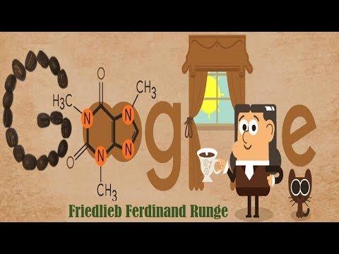 Friedlieb Ferdinand Runge | Founder of Caffeine Celebrates Google Doodle