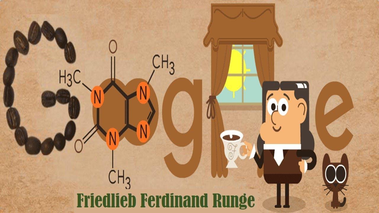 Gallery Friedlieb Ferdinand Runge   Founder of Caffeine Celebrates Google Doodle is free HD wallpaper.