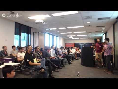 NASA Space Apps Challenge Brisbane 2015 (Day 2)