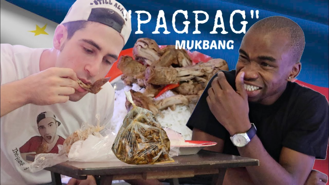 eating pagpag food from garbage mukbang unexpected reaction