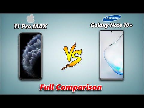 IPhone 11 Pro Max Vs Samsung Galaxy Note 10 Plus   Full Mobile Comparison