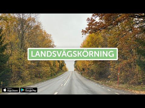 Ta Körkort - Landsvägskörning