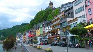 Cochem, Germany - Altstadt (old town) & Moselle River Promenade