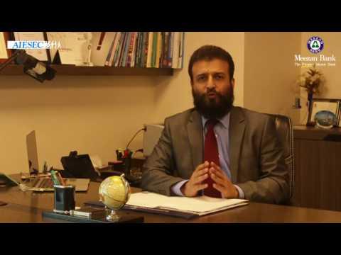 Muhammad Raza, Group Head Customer Support - Meezan Bank Limited talk about Youth development