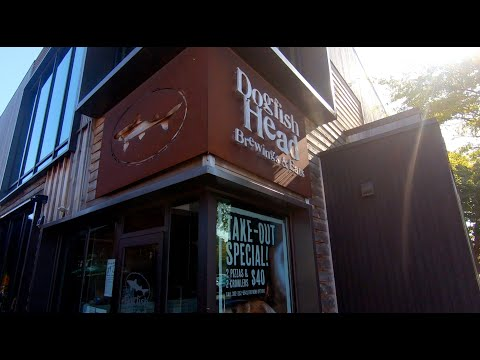 Dogfish Head Craft Brewery In Rehoboth Beach Delaware