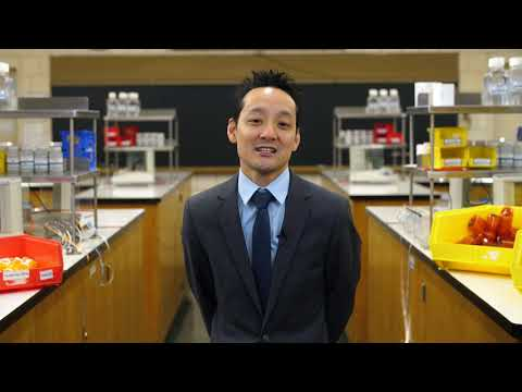 LIU Pharmacy Associate Dean, Brian Yeung