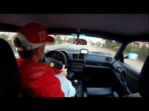 First outing with the Ferrari F355 'onboard cam' @ 2012 !