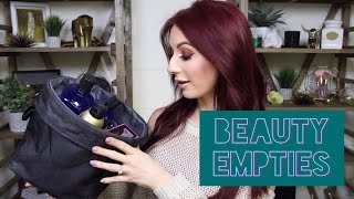 Empties | Makeup, Skin Care, Hair Care & Body Care