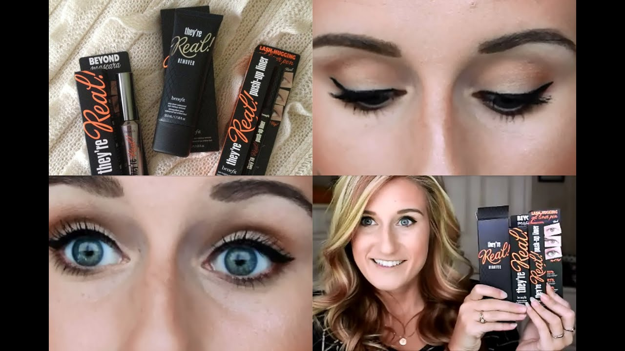 They're Real! Big Lash Blowout Mascara Set by Benefit #4