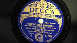 Henry Hall - Cheery Song Memories - 1931