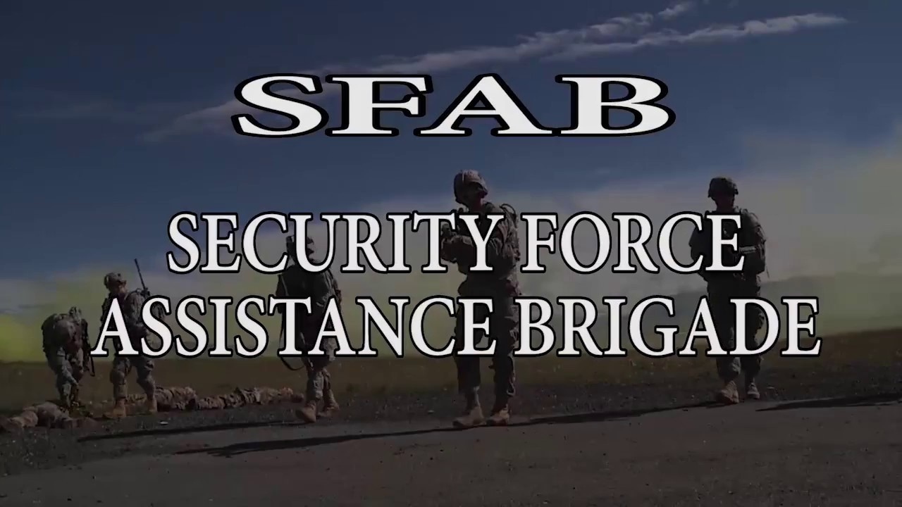 security force assistance brigade youtube