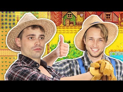Download Youtube: SHAYNE AND DAMIEN GO FARMING!