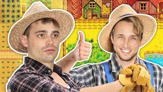SHAYNE AND DAMIEN GO FARMING!