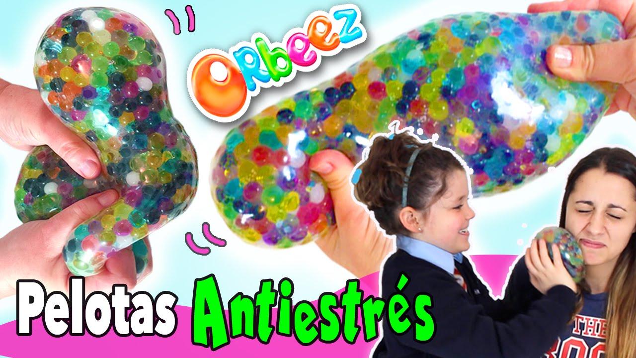 1718a80bc Cómo hacer PELOTAS ANTIESTRES de Orbeez o canicas de agua - YouTube
