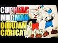 DIBUJAR CARICATURAS!! CUPHEAD!!!