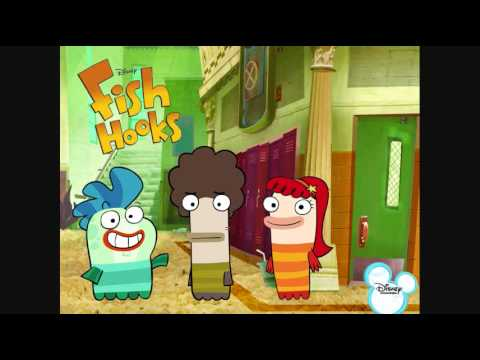 Fish Hooks Theme Song Chipmunk Version