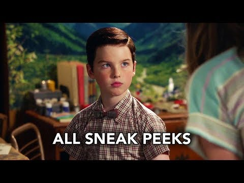 """Young Sheldon 2x02 All Sneak Peeks """"A Rival Prodigy and Sir Isaac Neutron"""" (HD)"""