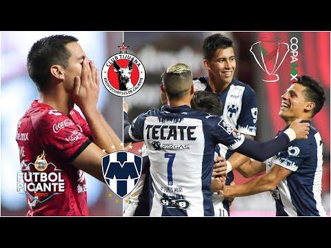 ANÁLISIS Monterrey pegó primero en la final de la Copa MX ante los Xolos en Tijuana | Futbol Picante