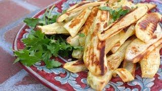 Easy Vegan Recipes | Roasted Sweet Potato Sticks