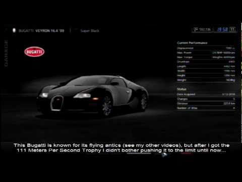 gran turismo 5 440kph 273mph no slipstream bugatti. Black Bedroom Furniture Sets. Home Design Ideas