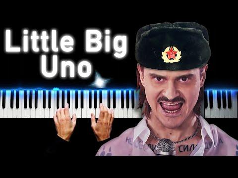 Little Big - Uno (Russian version) | Piano cover