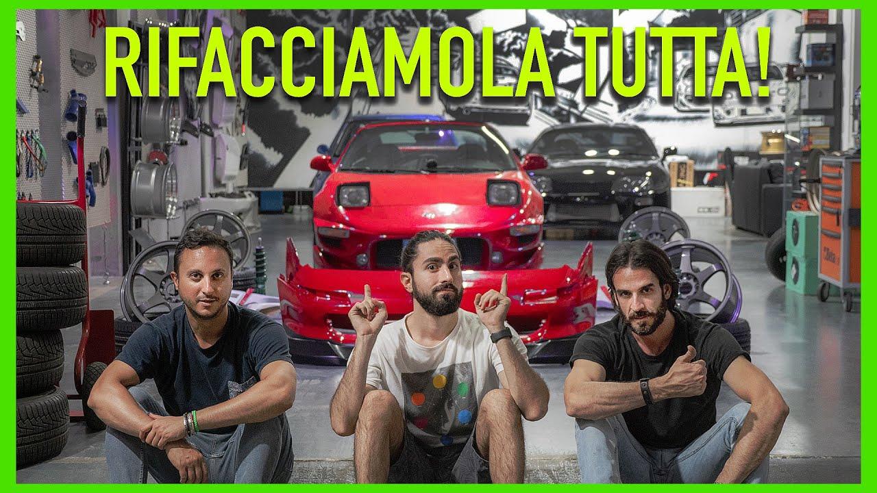 Il nostro nuovo progetto: Toyota MR2 Turbo