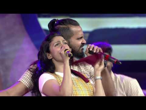 Ranjith & Suchitra's lovely performance  Mirchi music awards south 2015