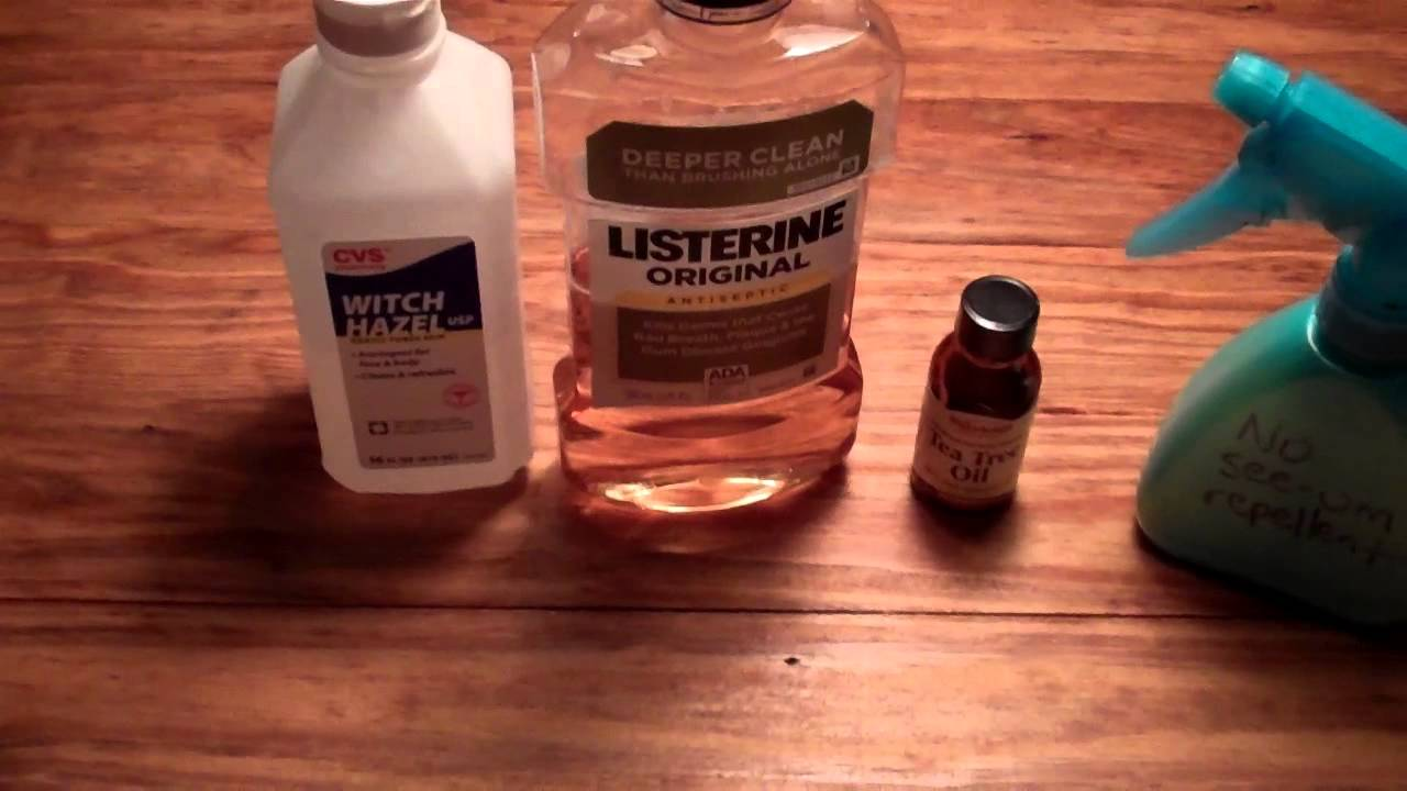 Effective, Homemade No-See-'Em Repellent! - YouTube