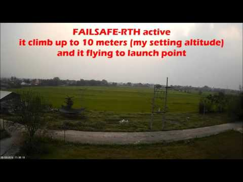 CleanFlight – Failsafe RTH Land – M-ROTOR