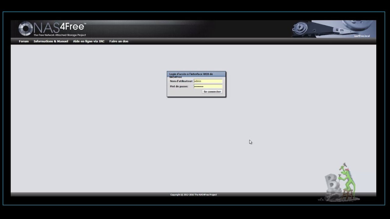[EXTENSION] Extended GUI - Nas4free sur Eeepc701