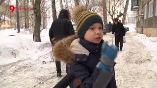 Что с мальчиком, на которого упал снег