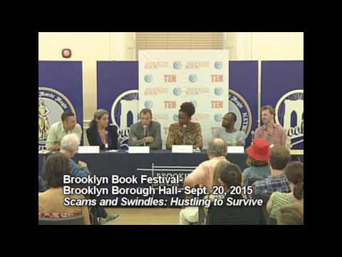 Brooklyn Book Festival- 2015- Scams and Swindles: Hustling to Survive