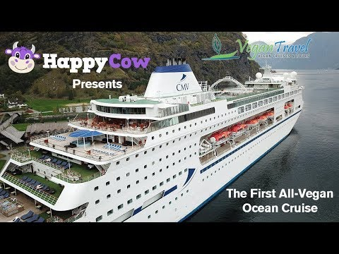 First ALL-VEGAN  Ocean CRUISE / Norway 2017