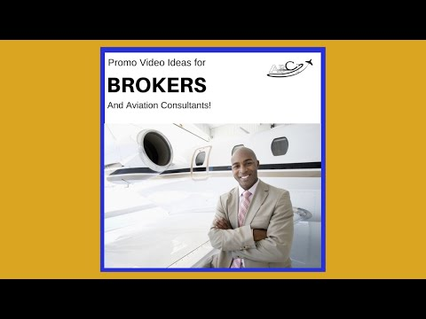 Aviation Promo Videos   Ideas for Aviation Consultants and Brokers