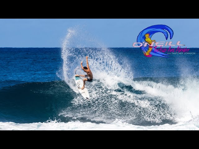 Growing Up At Pipeline with Thatcher Johnson | The O'Neill Kids Are Alright!