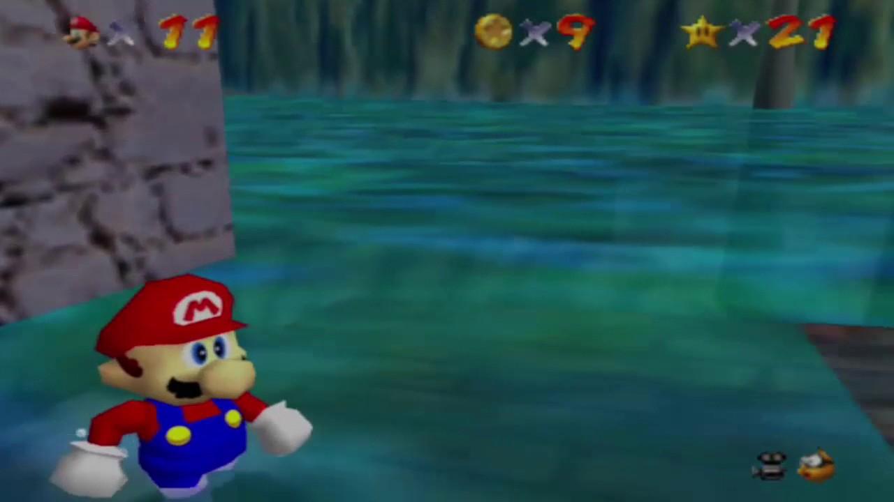 Super Mario 64 Piratenbucht Panik Finde Die 8 Roten Münzen