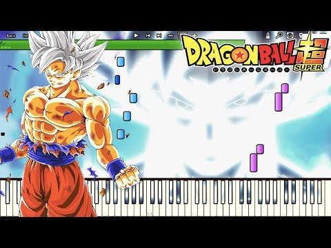 Mastered Ultra Instinct Awakens! - Dragon Ball Super OST , Episode 129 BGM (Piano Tutorial)