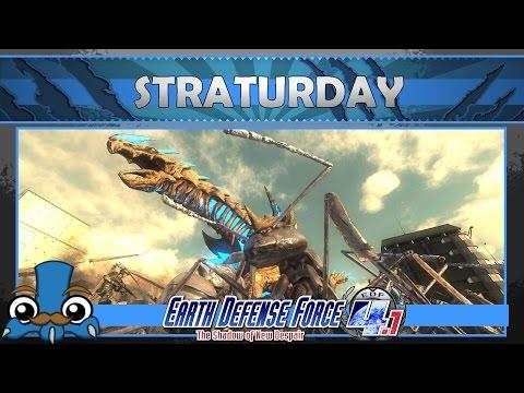 [34] Straturday:  Earth Defense Force 4.1   13-08-16