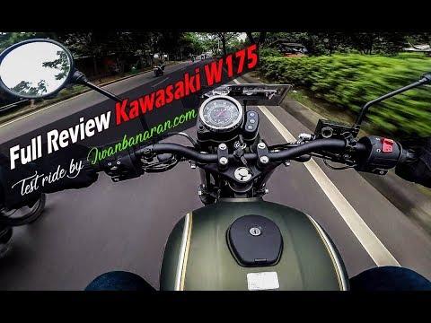 #VLOG 2 : Test ride Kawasaki W175 di kemacetan Jakarta   Kupas tuntas !!
