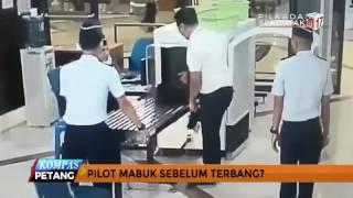 Pilot Mabuk Sebelum Terbang?