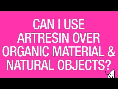 Can I Epoxy Resin Over Organic Material and Natural Objects?