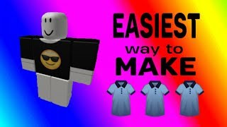 How to make shirts in ROBLOX! (Easy and works for PC/MAC)