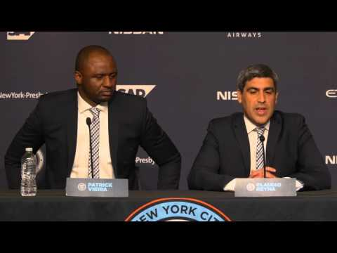 Patrick Vieira's Introductory Press Conference