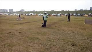 秋季訓練競技大会、CDⅡの出陳です。前日の雨の影響で、リンクの状態が悪...