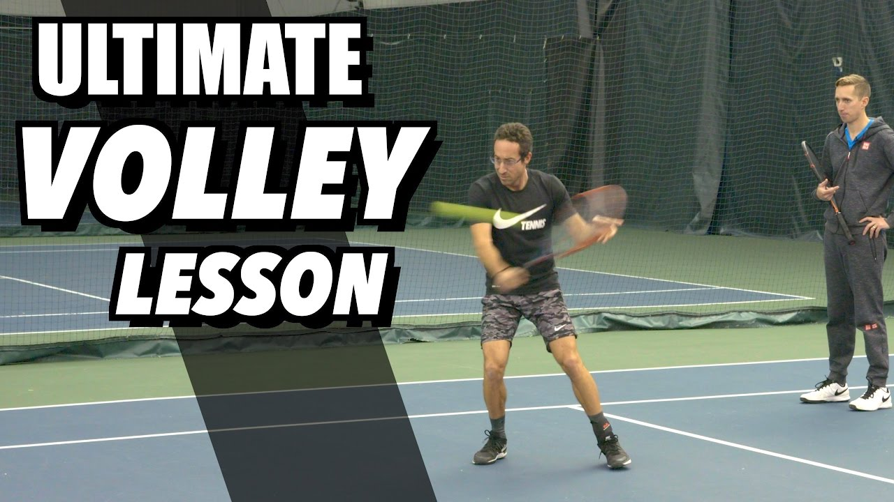Tennis Volley Technique Ultimate Lesson Drills And Tips Youtube