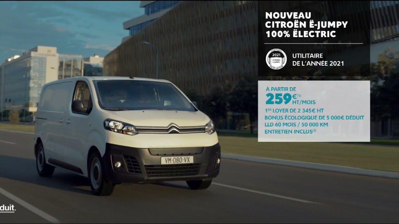 """Musique de la pub Citroën E-Jumpy 100% electric – les jours pro """"inspirëd by pro""""  Mai 2021"""