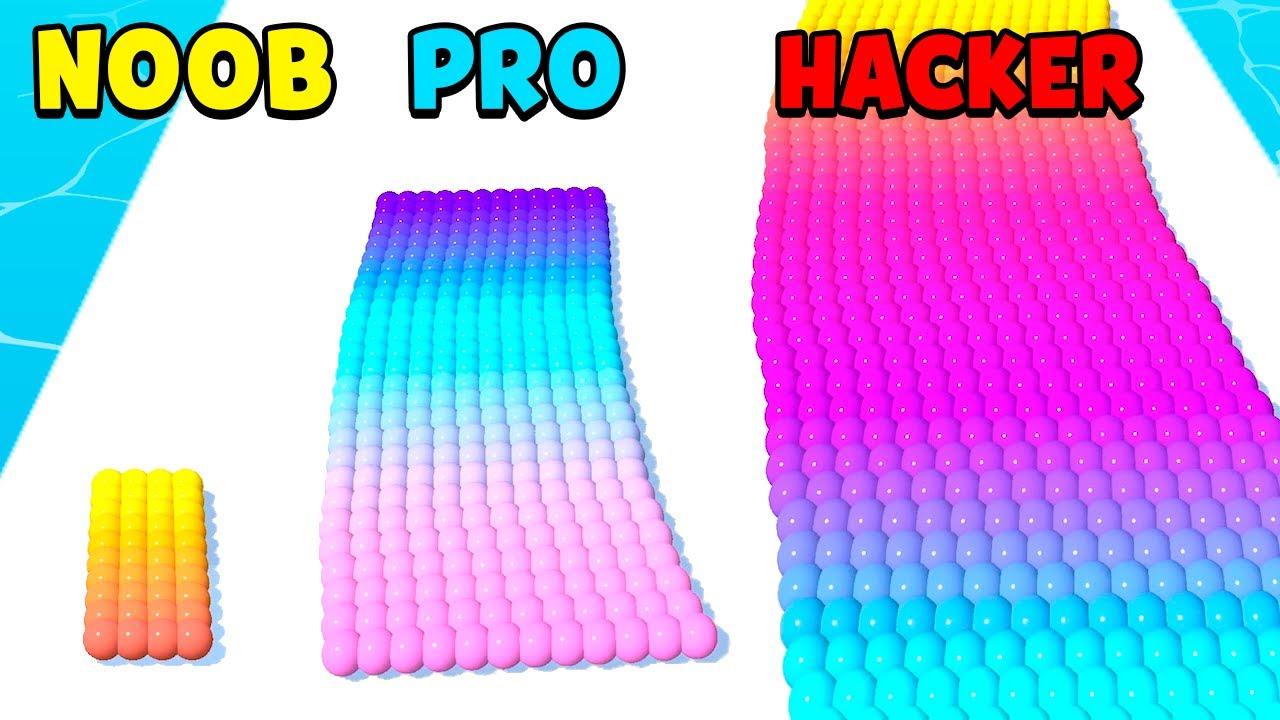Download NOOB vs PRO vs HACKER - Canvas Run